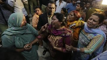 27-03-2016 22:43 Pakistan: atak bombowy w Lahore. Dziesiątki ofiar, trzystu rannych