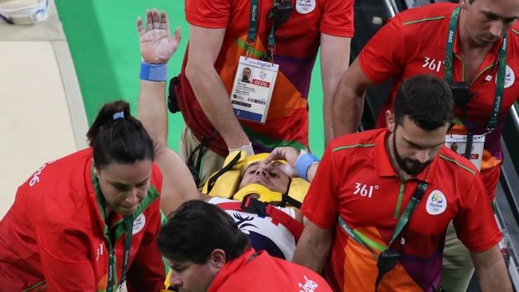 Rio 2016: Najpierw złamał nogę, później został upuszczony przez noszowych!