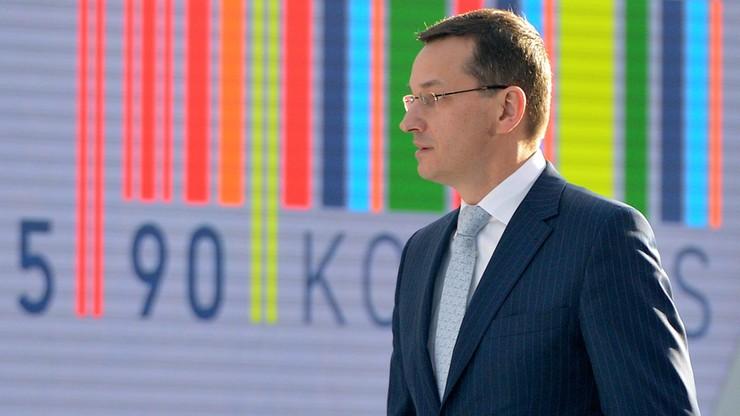 Morawiecki: Polskie inwestycje, w tym publiczne, są nadmiernie zależne od funduszy europejskich