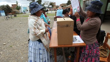 22-02-2016 06:13 Boliwijczycy nie chcą, by Morales po raz czwarty został prezydentem