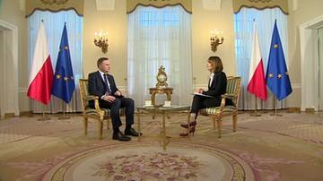 Prezydent Andrzej Duda: propozycja zmian w konstytucji to