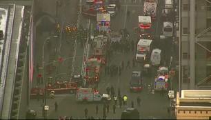 Nieudany atak terrorystyczny w Nowym Jorku. 4 osoby ranne, zamachowiec trafił do szpitala