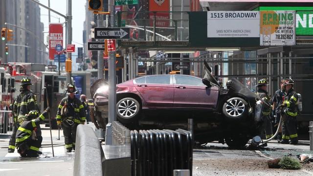 Sprawca wypadku na Times Square chciał zabić ich wszystkich
