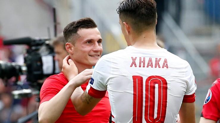 Starcie braci na Euro: Szwajcaria pokonała Albanię