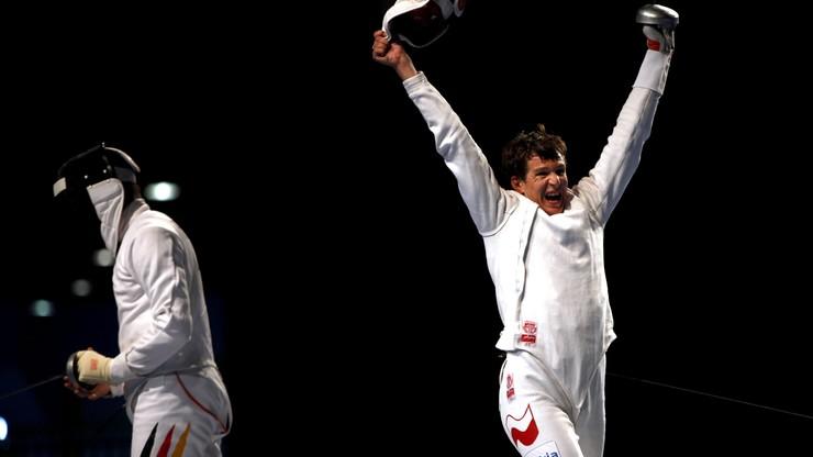 PŚ szpadzistów: Polak na podium w Rio de Janeiro
