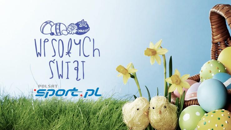 Pogodnych i radosnych Świąt Wielkanocnych życzy sportowa redakcja Polsatu!