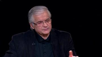"""2017-12-11  """"Kaczyński i Duda chcą, by obowiązywała konstytucja ich autorstwa"""". Włodzimierz Cimoszewicz w programie """"Tło"""""""