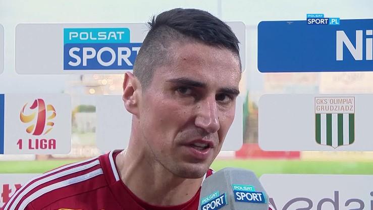 2017-05-17 Zawistowski: Byliśmy w rozsypce, ale wracamy do walki o Ekstraklasę