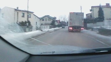 Kierowca tira, 3 promile i spektakularny pościg