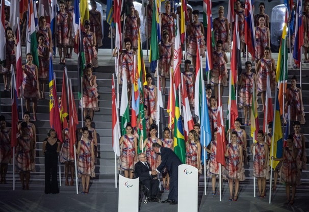 Paraolimpiada: Białoruski oszczepnik wystąpił z flagą Rosji
