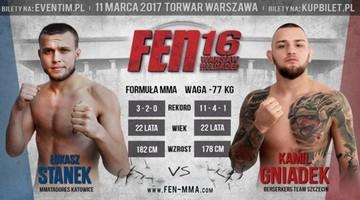 2017-02-15 FEN 16: Stanek zastąpił kontuzjowanego Żelazowskiego