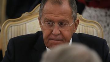 06-10-2016 19:59 Ławrow: Rosja zainteresowana propozycją de Mistury w sprawie Aleppo