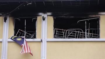 14-09-2017 05:11 W Malezji zginęło co najmniej 25 osób w pożarze szkoły