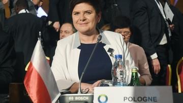 """05-12-2017 06:30 """"Bez względu na wszystko najważniejsza jest Polska"""". Nocny wpis premier na Twitterze"""