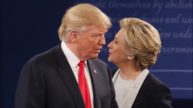 USA: Kłótnia Clinton z Trumpem zdominowała drugą debatę