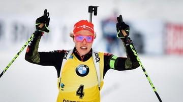 2016-12-09 PŚ w biathlonie: Dahlmeier wygrała w sprincie i uciekła konkurencji