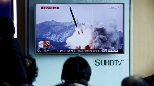 Nieudana próba rakietowa Korei Północnej - władze nie przyznają się