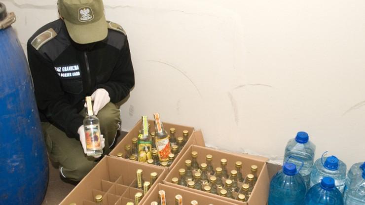 Żytko, Śliwowica i Gruszkówka. Straż Graniczna przejęła 766 litrów alkoholu domowej produkcji