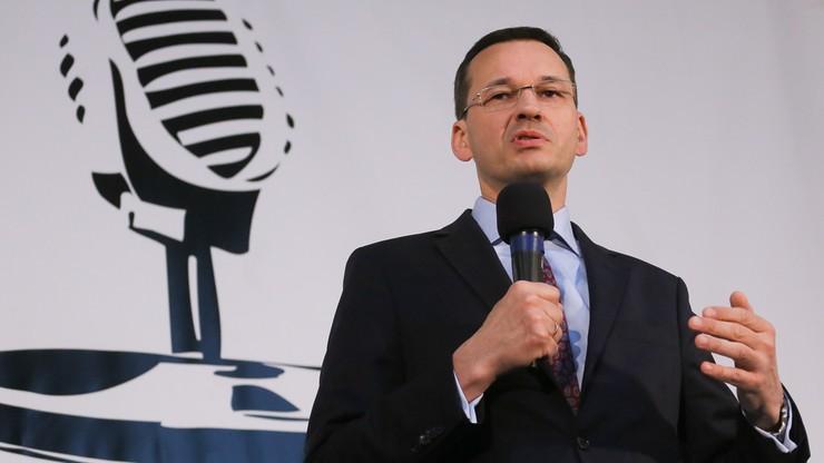 Morawiecki: wobec zakwestionowanych dogmatów ważna m.in. elastyczność