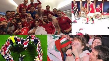 Euforia Walijczyków. Tak fani i piłkarze celebrowali półfinał Euro 2016