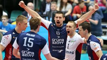 2016-12-21 Liga Mistrzów: Noliko Maaseik - ZAKSA Kędzierzyn-Koźle. Transmisja w Polsacie Sport