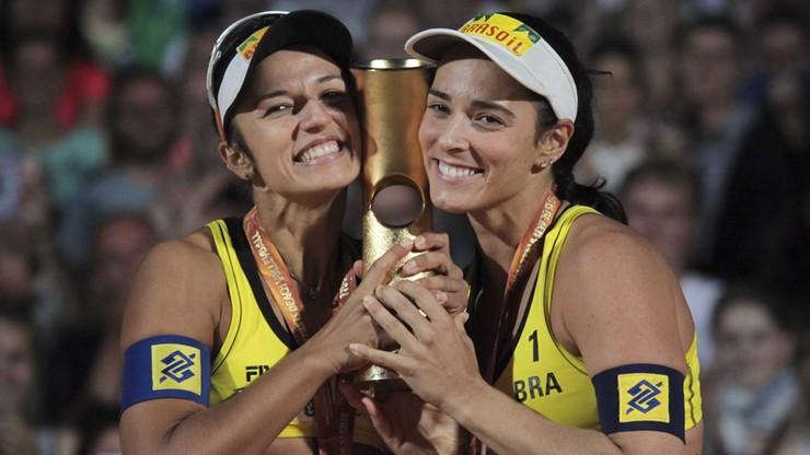Brazylijskie podium turnieju kobiet