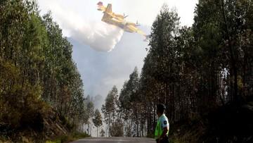20-06-2017 18:39 Media: samolot rozbił się podczas gaszenia pożaru w Portugalii