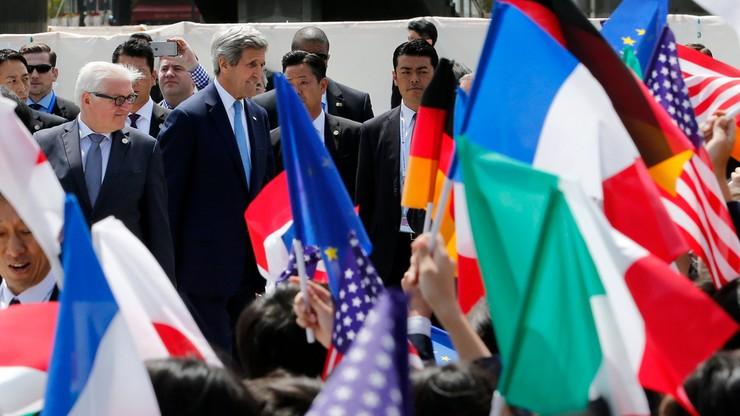 G7 przeciwko prowokacjom na Morzu Południowochińskim i Wschodniochińskim