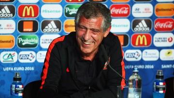2016-07-09 Portugalia - Francja. Santos: To oni faworytem, ale to my wygramy