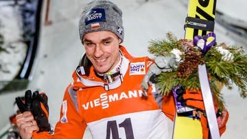 Piotr Żyła na podium MŚ w Lahti. Wygrał zakład z burmistrzem Wisły