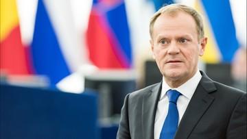 """15-02-2016 20:37 Tusk: """"ryzyko rozpadnięcia się UE jest realne"""""""