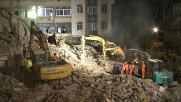 11-10-2016 05:29 Chiny: zawaliły się budynki mieszkalne. Są ofiary śmiertelne