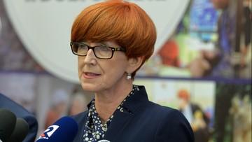 Poprawa jakości życia polskich rodzin, dobra sytuacja na rynku pracy - minister Rafalska chwali się osiągnięciami