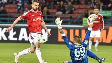 2016-09-30 Ekstraklasa: U zbiegu Wiseł bez Pawła Brożka