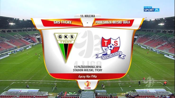 2016-10-15 GKS Tychy - Podbeskidzie 0:1. Skrót meczu