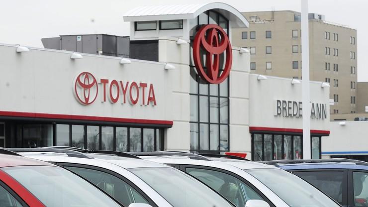 Toyota wzywa do serwisu właścicieli prawie 4 milionów aut