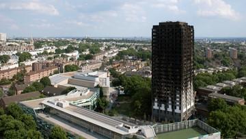24-06-2017 15:38 Wielka kontrola po pożarze Grenfell Tower. 27 wieżowców ma łatwopalną elewację