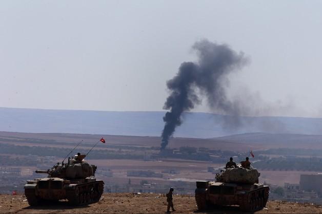 Dżihadyści wyparci z syryjskiego Kobane