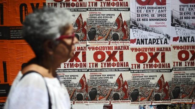 Grecja: niewielka przewaga zwolenników porozumienia z wierzycielami