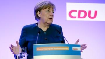 """""""Będę zabiegała o dialog z nowym prezydentem USA"""". Merkel o międzynarodowej współpracy"""