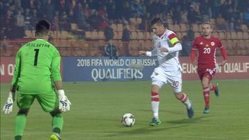 2016-11-11 Ormiańscy obrońcy jednak kabareciarzami? Fatalny klops i gol Jovetica (WIDEO)