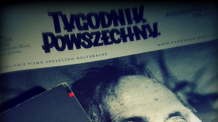 """Chcą pozbawić """"Tygodnik Powszechny"""" i wydawnictwo """"Znak"""" tytułu """"katolicki"""""""