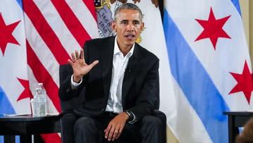 """04-05-2017 18:36 Obama wyraził poparcie dla Macrona. """"Broni wartości liberalnych"""""""