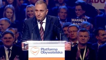 """02-10-2016 15:56 """"Zlikwidujemy IPN i CBA"""" - Schetyna na konwencji krajowej PO"""