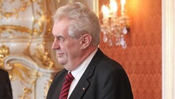 05-01-2016 05:39 Prezydent Czech: Bractwo Muzułmańskie stoi za falą uchodźców