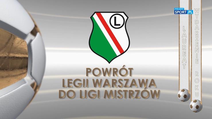 Gala PN: Legia Warszawa w Lidze Mistrzów wydarzeniem roku 2016