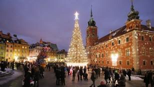 Świąteczna iluminacja rozświetliła stolicę