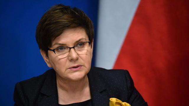 Premier Szydło: Europa musi powiedzieć stanowcze nie terrorystom