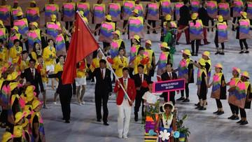 Rio: flagi Chin z błędem. Uszyją nowe