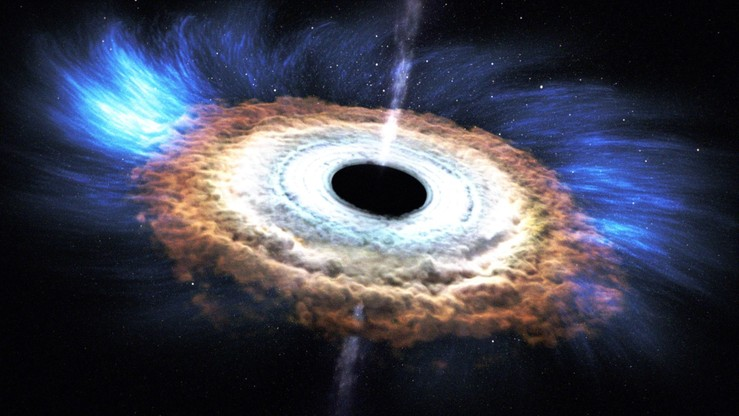 """#BlackHoleFriday. NASA ogłasza własną wersję """"czarnego piątku"""""""